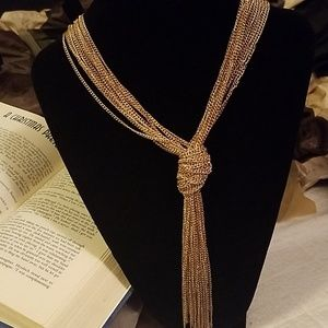 Jewelry - 💕Rope Chain Statement Necklace 💕
